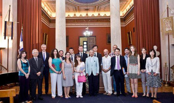 Υπότροφοι Ιαπωνικού Ιδρύματος SYLFF-Πανεπιστήμιο Αθηνών